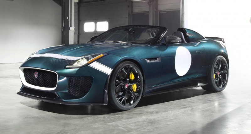 Car-Revs-Daily.com JAGUAR Special Operations F-TYPE Project 7 Speedster 5