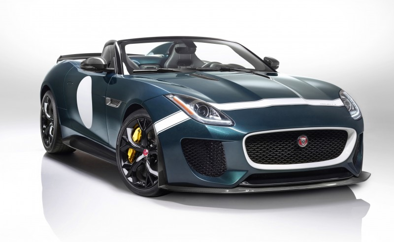 Car-Revs-Daily.com JAGUAR Special Operations F-TYPE Project 7 Speedster 6