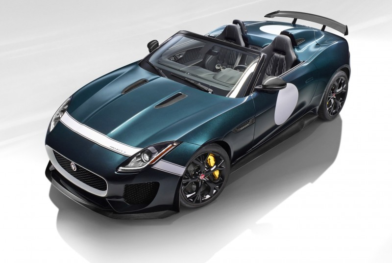 Car-Revs-Daily.com JAGUAR Special Operations F-TYPE Project 7 Speedster 7
