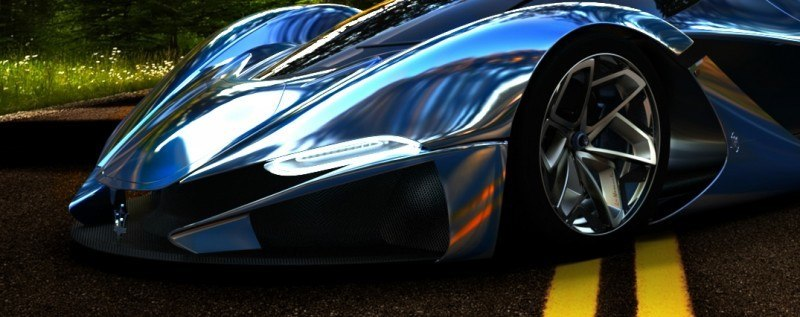 Car-Revs-Daily.com LaMASERATI by Mark Hostler - The Wildest Hypercar Concept Ever 45