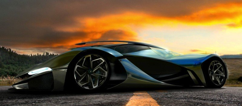 Car-Revs-Daily.com LaMASERATI by Mark Hostler - The Wildest Hypercar Concept Ever 50