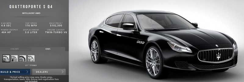 Car-Revs-Daily.com Maserati Quattroporte Configurator 11