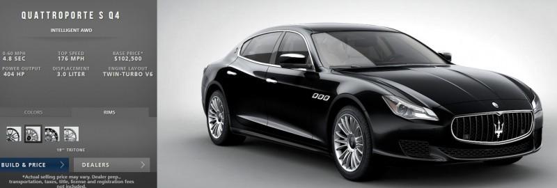 Car-Revs-Daily.com Maserati Quattroporte Configurator 12