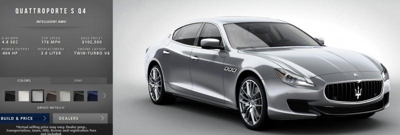 Car-Revs-Daily.com Maserati Quattroporte Configurator 17