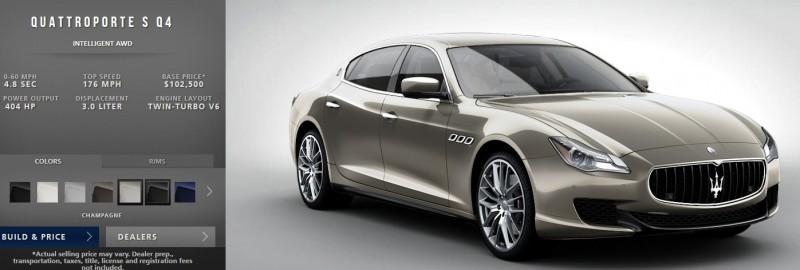 Car-Revs-Daily.com Maserati Quattroporte Configurator 19