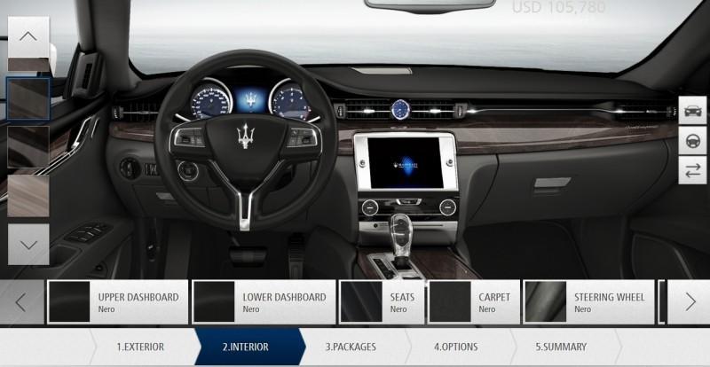 Car-Revs-Daily.com Maserati Quattroporte Configurator 26