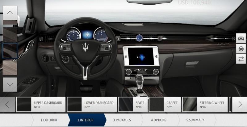 Car-Revs-Daily.com Maserati Quattroporte Configurator 27