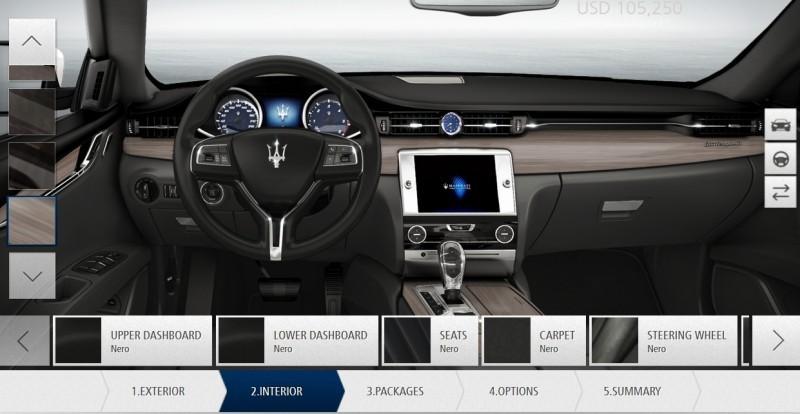 Car-Revs-Daily.com Maserati Quattroporte Configurator 28
