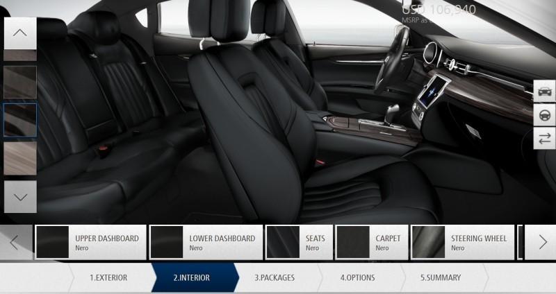 Car-Revs-Daily.com Maserati Quattroporte Configurator 33