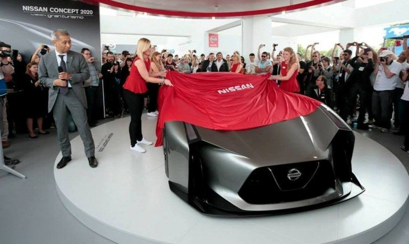 Car-Revs-Daily.com Nissan NC2020 Vision Gran Turismo Makes Real-Life Debut at Goodwood FoS 11