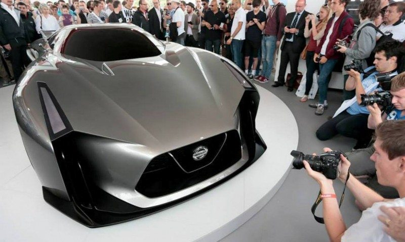 Car-Revs-Daily.com Nissan NC2020 Vision Gran Turismo Makes Real-Life Debut at Goodwood FoS 13