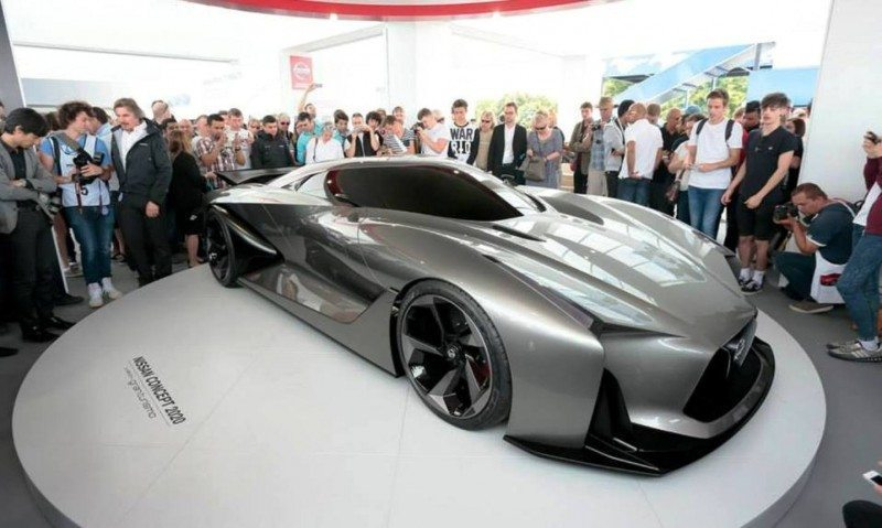 Car-Revs-Daily.com Nissan NC2020 Vision Gran Turismo Makes Real-Life Debut at Goodwood FoS 15