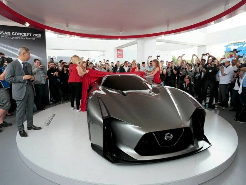 Car-Revs-Daily.com Nissan NC2020 Vision Gran Turismo Makes Real-Life Debut at Goodwood FoS 17