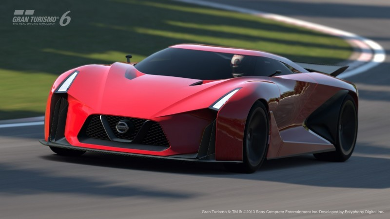 Car-Revs-Daily.com Nissan NC2020 Vision Gran Turismo Makes Real-Life Debut at Goodwood FoS 20
