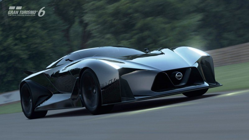 Car-Revs-Daily.com Nissan NC2020 Vision Gran Turismo Makes Real-Life Debut at Goodwood FoS 48