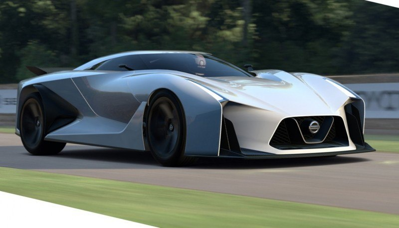 Car-Revs-Daily.com Nissan NC2020 Vision Gran Turismo Makes Real-Life Debut at Goodwood FoS 49