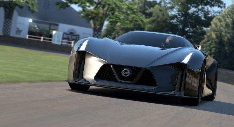 Car-Revs-Daily.com Nissan NC2020 Vision Gran Turismo Makes Real-Life Debut at Goodwood FoS 50