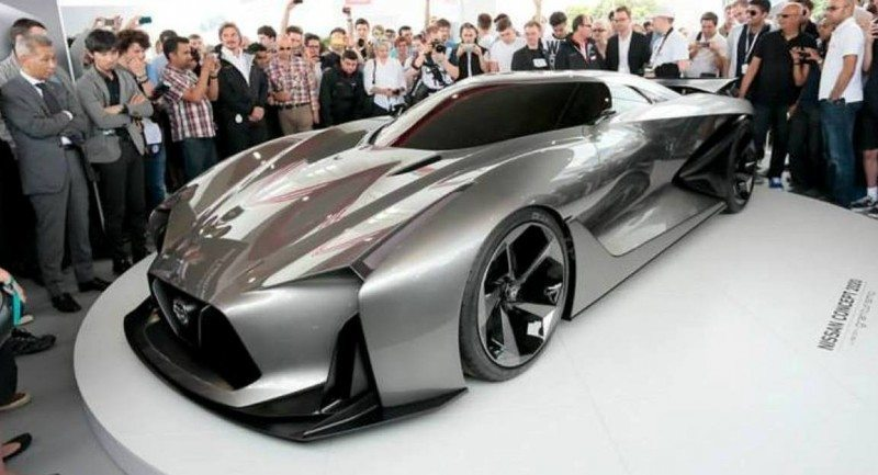 Car-Revs-Daily.com Nissan NC2020 Vision Gran Turismo Makes Real-Life Debut at Goodwood FoS 9