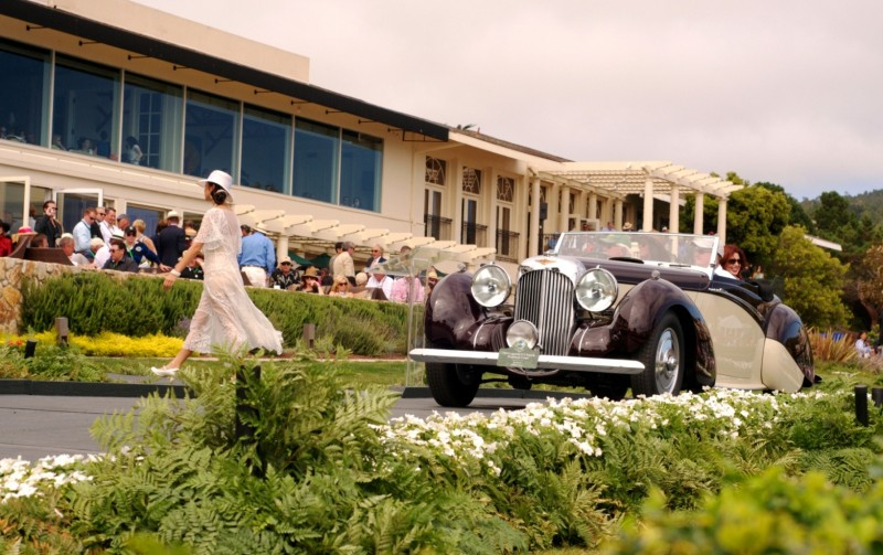 Car-Revs-Daily.com PEBBLE BEACH 2014 Concours - Award Winners Showcase by Entry Class 100