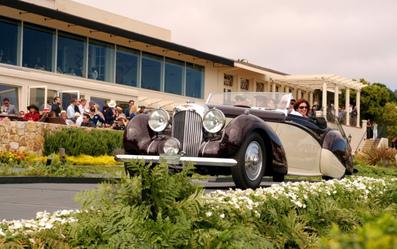 Car-Revs-Daily.com PEBBLE BEACH 2014 Concours - Award Winners Showcase by Entry Class 101