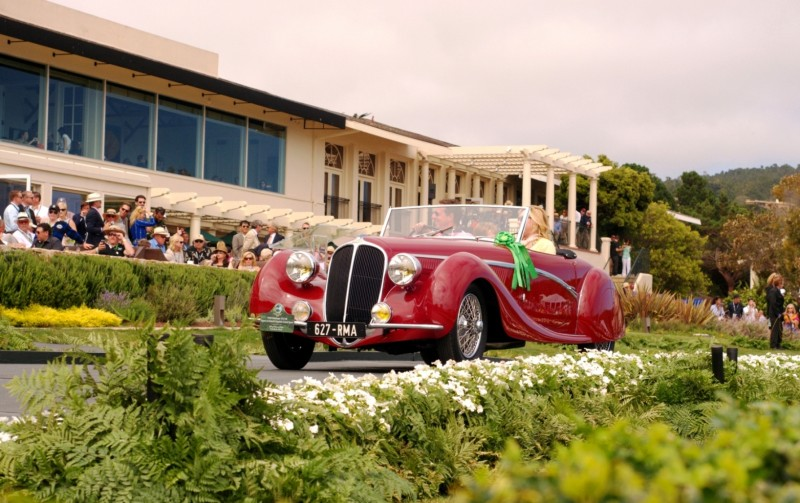 Car-Revs-Daily.com PEBBLE BEACH 2014 Concours - Award Winners Showcase by Entry Class 104