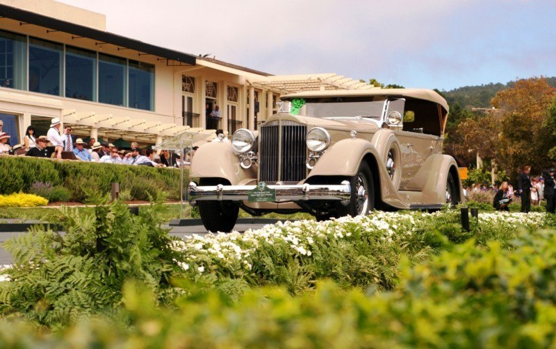 Car-Revs-Daily.com PEBBLE BEACH 2014 Concours - Award Winners Showcase by Entry Class 14