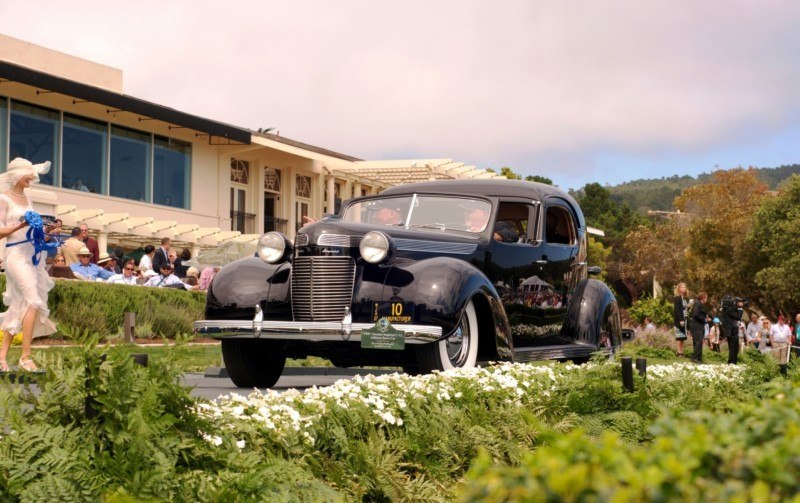 Car-Revs-Daily.com PEBBLE BEACH 2014 Concours - Award Winners Showcase by Entry Class 31