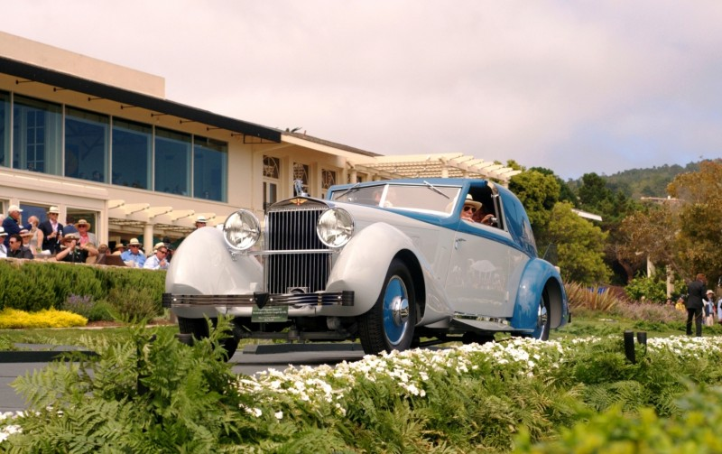 Car-Revs-Daily.com PEBBLE BEACH 2014 Concours - Award Winners Showcase by Entry Class 60