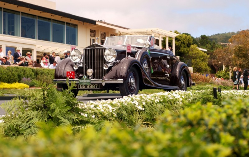Car-Revs-Daily.com PEBBLE BEACH 2014 Concours - Award Winners Showcase by Entry Class 69