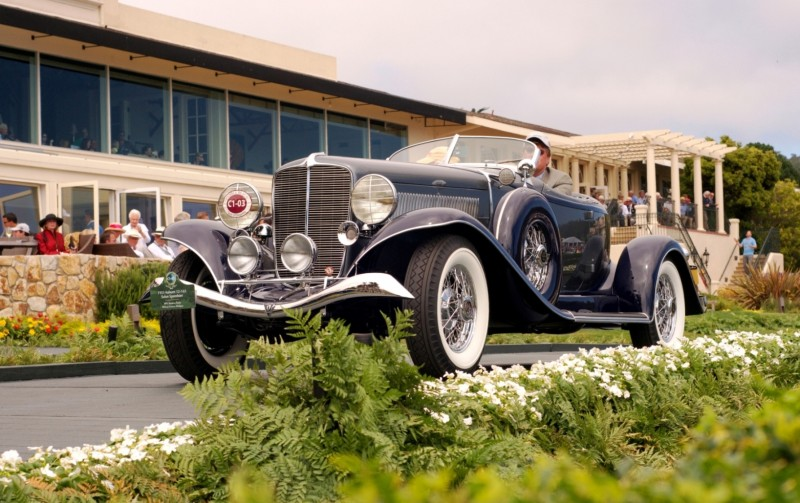 Car-Revs-Daily.com PEBBLE BEACH 2014 Concours - Award Winners Showcase by Entry Class 7
