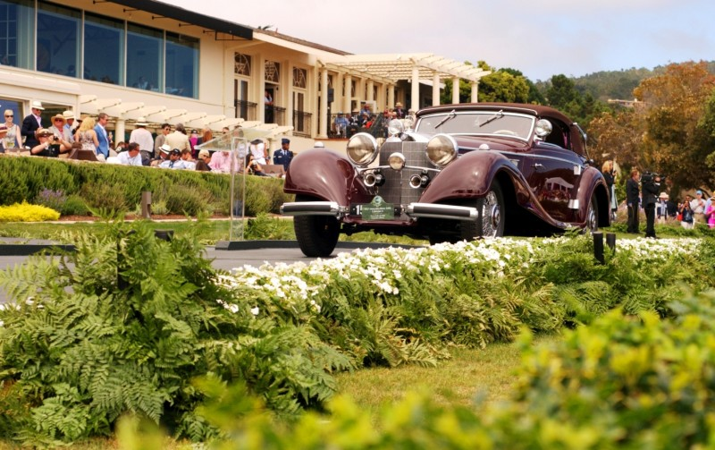 Car-Revs-Daily.com PEBBLE BEACH 2014 Concours - Award Winners Showcase by Entry Class 79