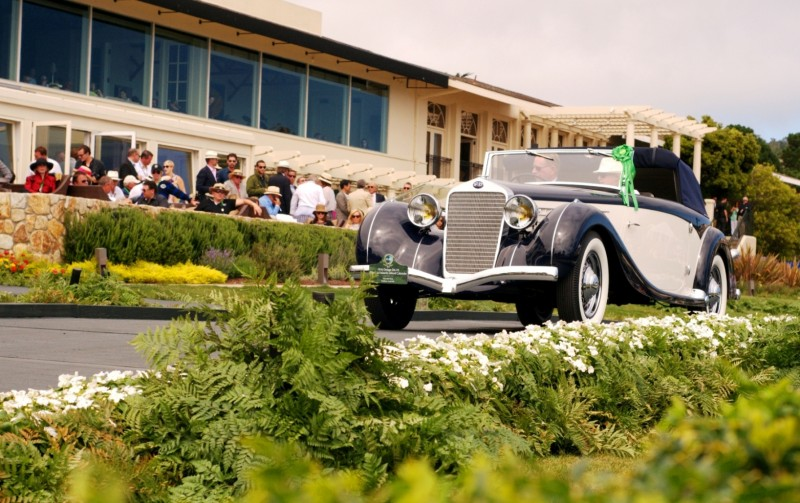 Car-Revs-Daily.com PEBBLE BEACH 2014 Concours - Award Winners Showcase by Entry Class 90