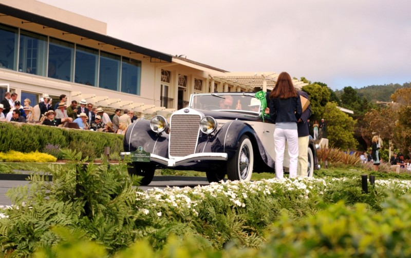 Car-Revs-Daily.com PEBBLE BEACH 2014 Concours - Award Winners Showcase by Entry Class 92