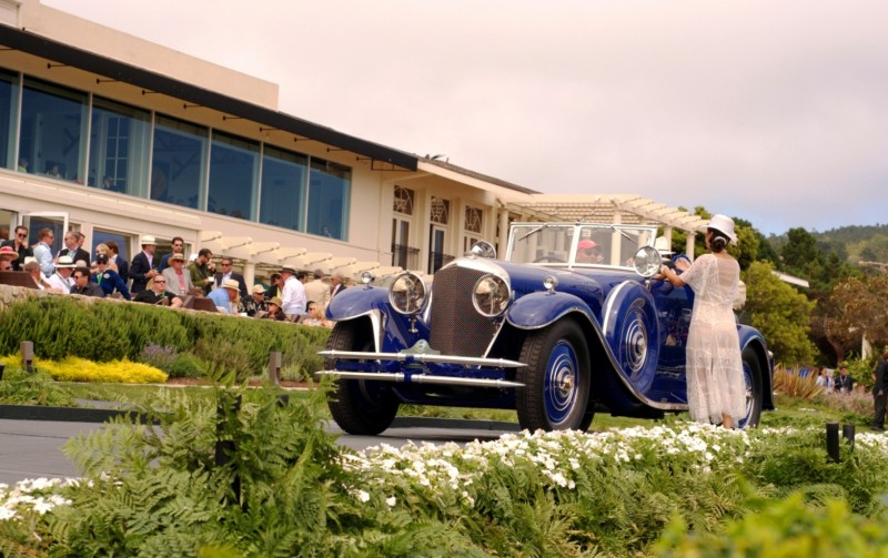 Car-Revs-Daily.com PEBBLE BEACH 2014 Concours - Award Winners Showcase by Entry Class 94
