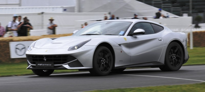 Car-Revs-Daily.com Quick Pics Post - 2014 Ferrari F12 at Goodwood FoS 2