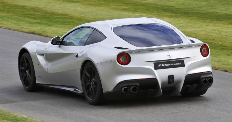 Car-Revs-Daily.com Quick Pics Post - 2014 Ferrari F12 at Goodwood FoS 4
