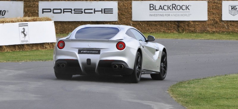 Car-Revs-Daily.com Quick Pics Post - 2014 Ferrari F12 at Goodwood FoS 5