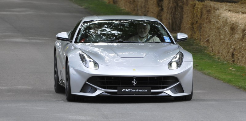 Car-Revs-Daily.com Quick Pics Post - 2014 Ferrari F12 at Goodwood FoS 6