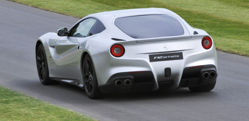 Car-Revs-Daily.com Quick Pics Post - 2014 Ferrari F12 at Goodwood FoS 7