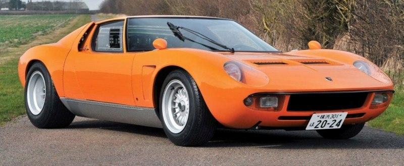 Car-Revs-Daily.com RM Auctions Monaco 2014 Highlights - 1969 Lamborghini Miura S Jota 1
