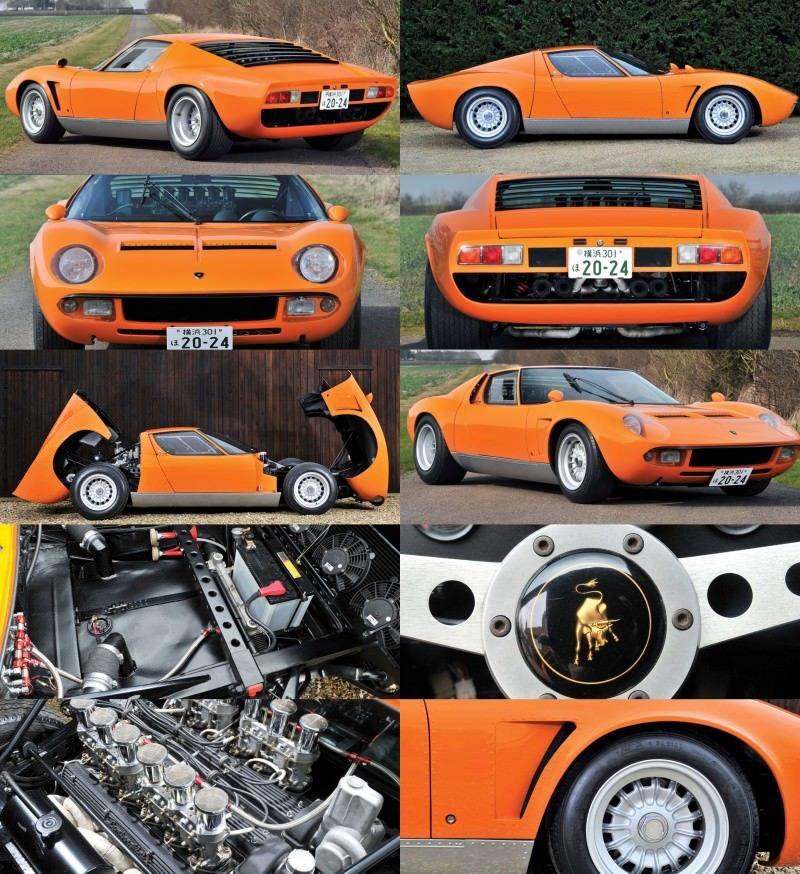 Car-Revs-Daily.com RM Auctions Monaco 2014 Highlights - 1969 Lamborghini Miura S Jota 1-tile