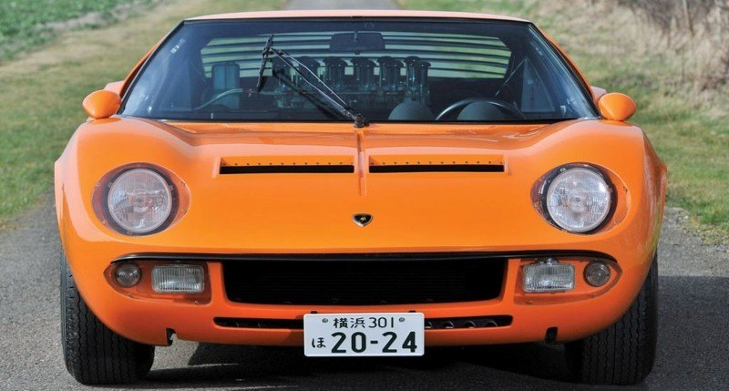 Car-Revs-Daily.com RM Auctions Monaco 2014 Highlights - 1969 Lamborghini Miura S Jota 16