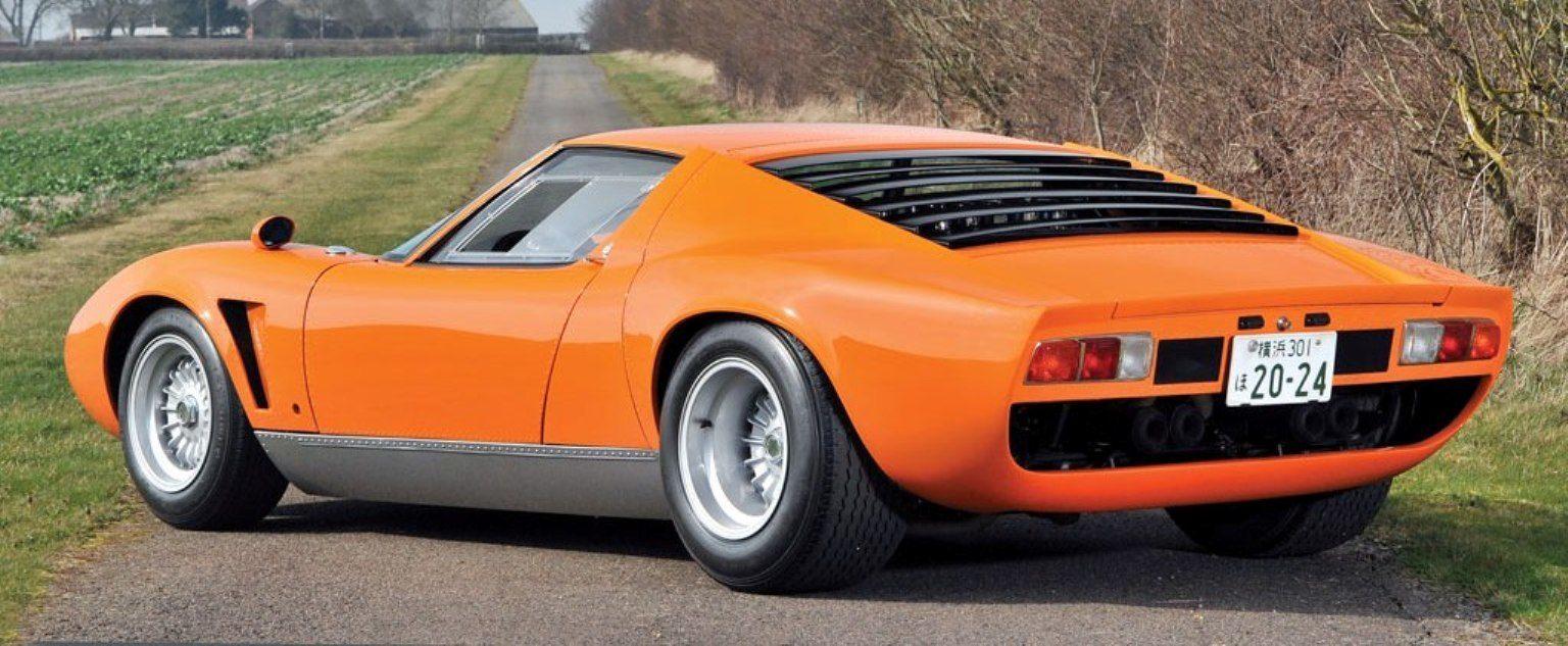 Rm Monaco 2014 Highlights 1969 Lamborghini Miura S Jota