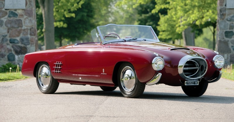 Car-Revs-Daily.com RM Monterey 2014 Preview - 1953 Lancia Aurelia PF200 C Spider by Pinin Farina 1