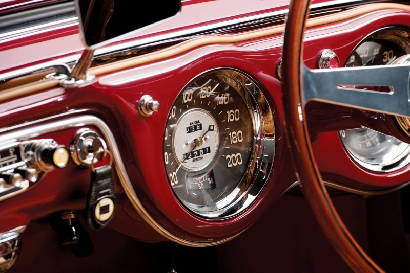 Car-Revs-Daily.com RM Monterey 2014 Preview - 1953 Lancia Aurelia PF200 C Spider by Pinin Farina 10