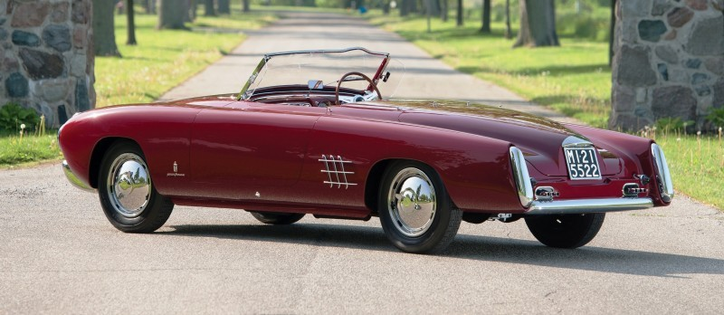 Car-Revs-Daily.com RM Monterey 2014 Preview - 1953 Lancia Aurelia PF200 C Spider by Pinin Farina 2