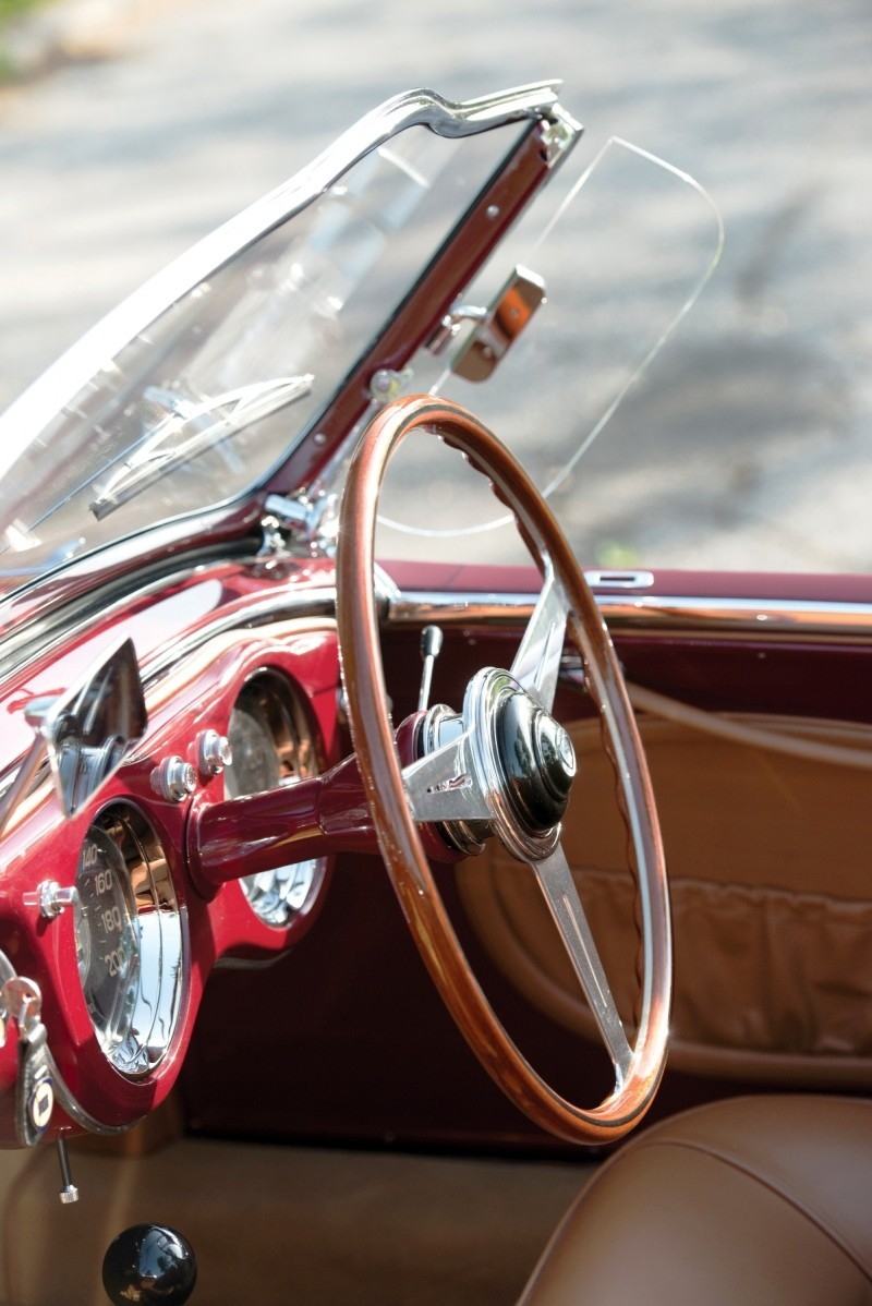 Car-Revs-Daily.com RM Monterey 2014 Preview - 1953 Lancia Aurelia PF200 C Spider by Pinin Farina  25
