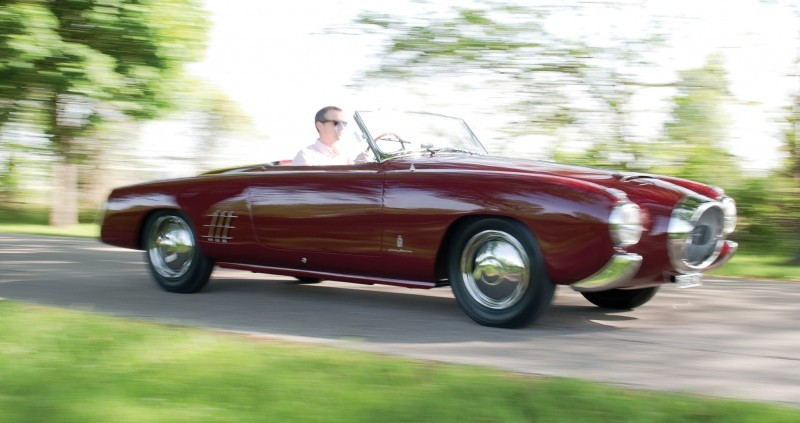 Car-Revs-Daily.com RM Monterey 2014 Preview - 1953 Lancia Aurelia PF200 C Spider by Pinin Farina  29