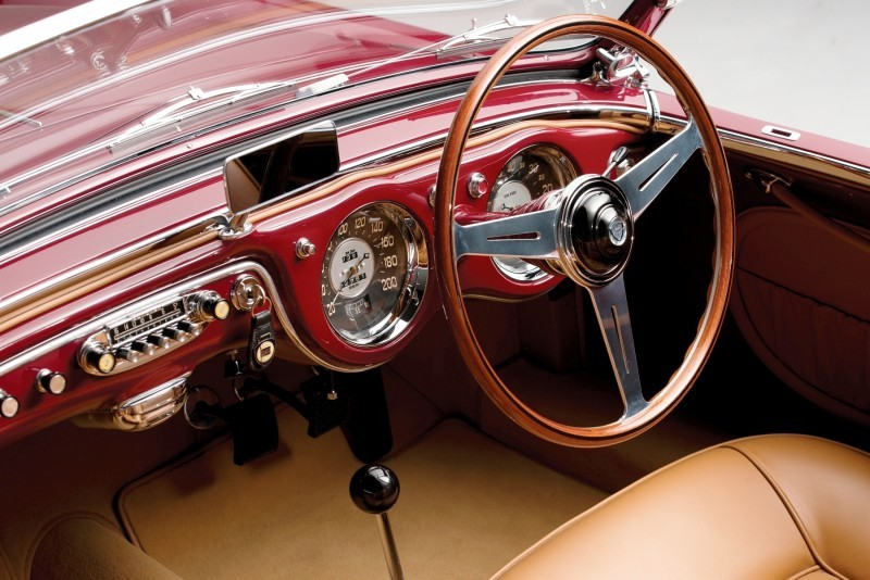 Car-Revs-Daily.com RM Monterey 2014 Preview - 1953 Lancia Aurelia PF200 C Spider by Pinin Farina 4