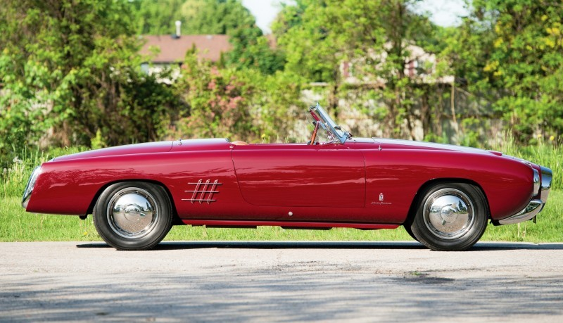 Car-Revs-Daily.com RM Monterey 2014 Preview - 1953 Lancia Aurelia PF200 C Spider by Pinin Farina 5